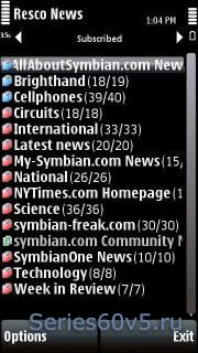 Resco News v1.25.1
