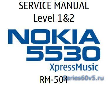 B Подробная инструкция разборки Nokia 5530.