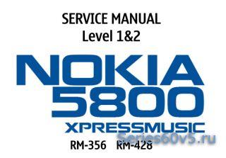 Подробная инструкция разборки Nokia 5800