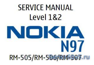 Подробная инструкция разборки Nokia N97