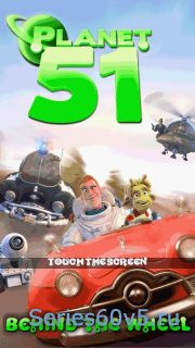 Planet 51 Behind The Wheel