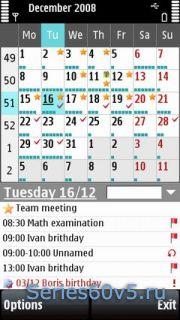 Handy Calendar v2.08.1 Rus